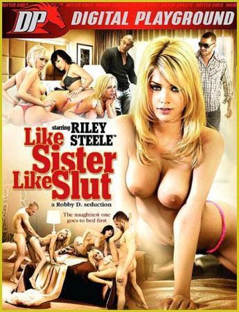 Digital Playground - Сестра как шлюха / Like Sister Like Slut (2012) DVDRip-AVC