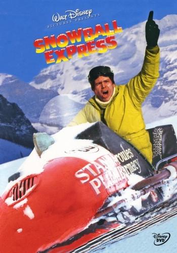 Экспресс снежок / Snowball Express (Норман Токарь / Norman Tokar) [1972, Комедия, DVDRip] VO