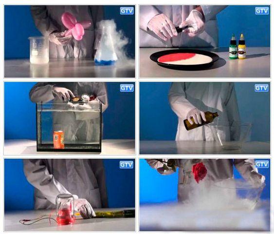 Интересные опыты и эксперименты
