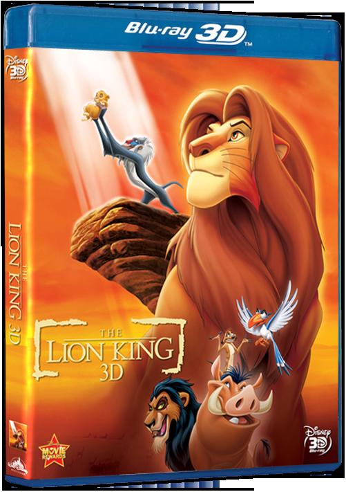 Кoроль Лeв в 3Д / The Liоn Кing 3D 1994 (2011) BDRip 1080p 3D [Half OverUnder / Вертикальная анаморфная стереопара]