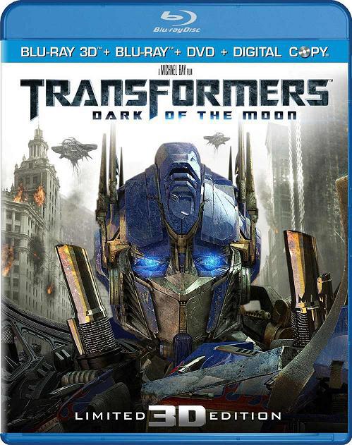 Трансформеры 3: Тёмная сторона Луны 3Д / Transformers: Dark of the Moon 3D (2011) [BDrip-AVC, Half OverUnder / Вертикальная анаморфная стереопара]