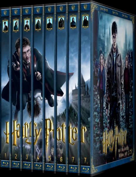Гарри Поттер: Коллекция / Harry Potter: Collection (2001-2011) (BDRip-AVC) 60 fps