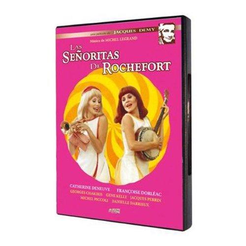 Девушки из Рошфора / Les Demoiselles De Rochefort (Жак Деми / Jacques Demy) [1967, Франция, мюзикл, DVDRip] dub + MVO + original + sub