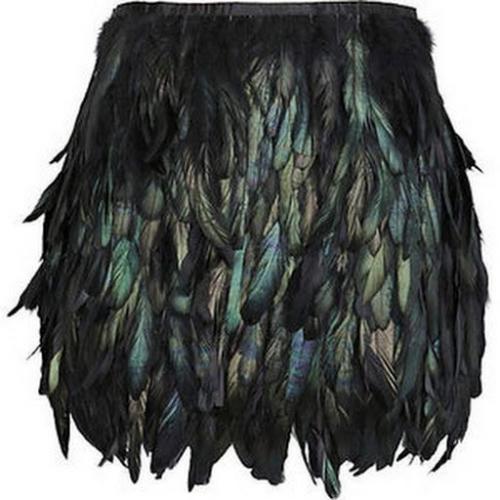 Юбка из перьев страуса