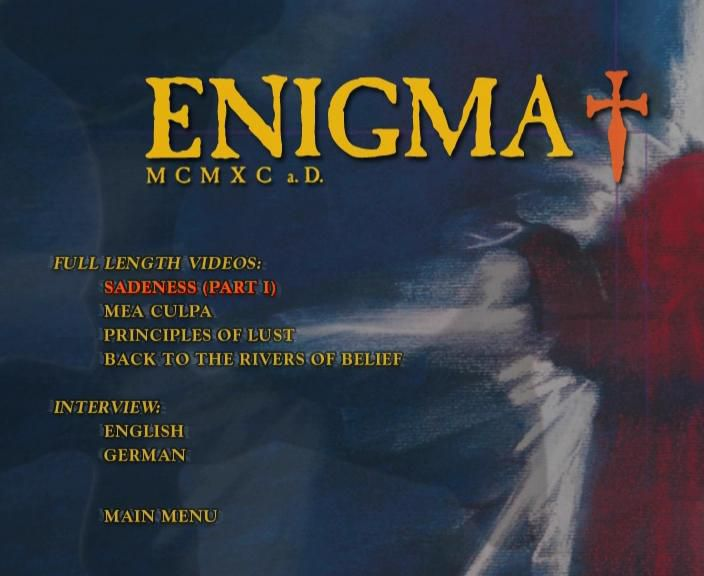Enigma - MCMXC a.D. The Complete Video Album