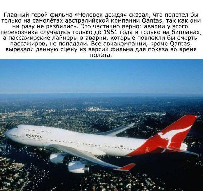 Факты об авиации