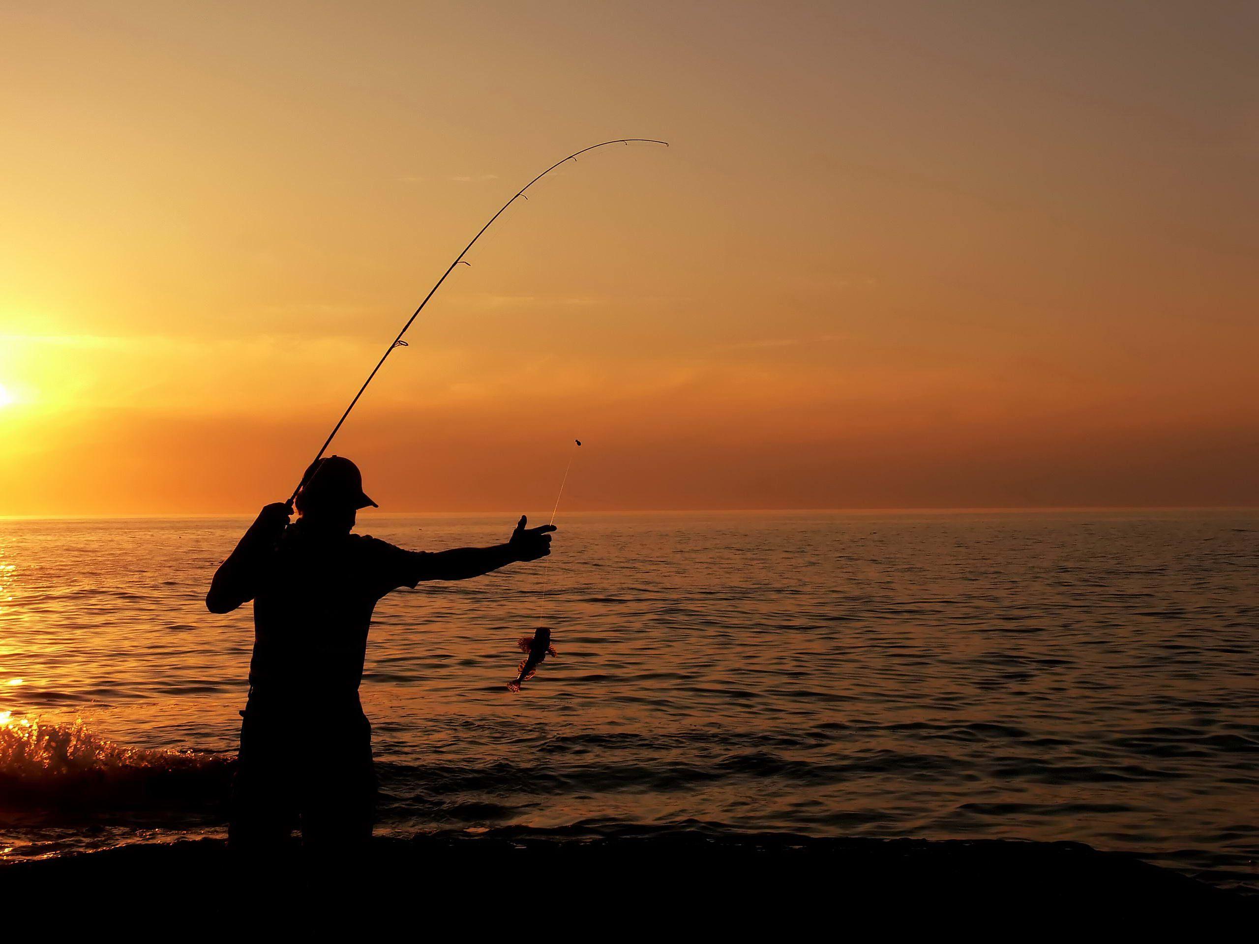 Пока мужики на рыбалке
