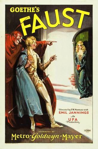 Фауст / Faust (Фридрих Вильгельм Мурнау / F.W. Murnau) [1926, Германия, ужасы, фэнтези, DVDRip] Sub Rus, Eng + Original Eng