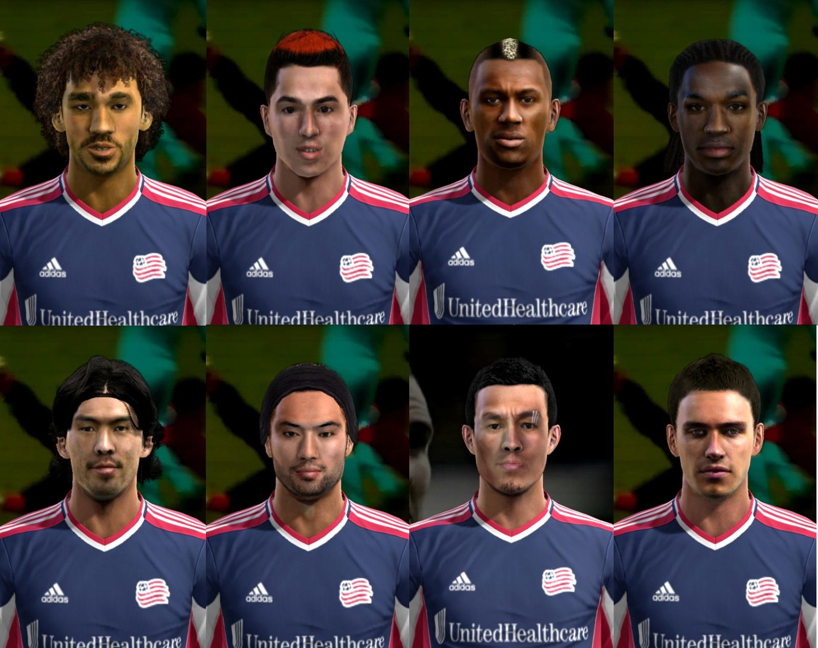 outlet store a8340 857e1 ... PES 2013 New England Revolution Facepack by cirkac-95 ...