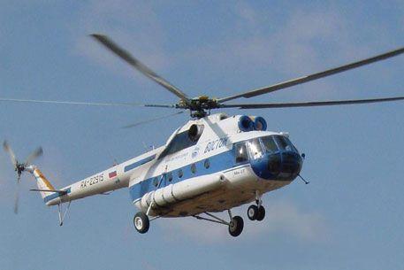Крушение вертолета МИ 8 в Геленджике