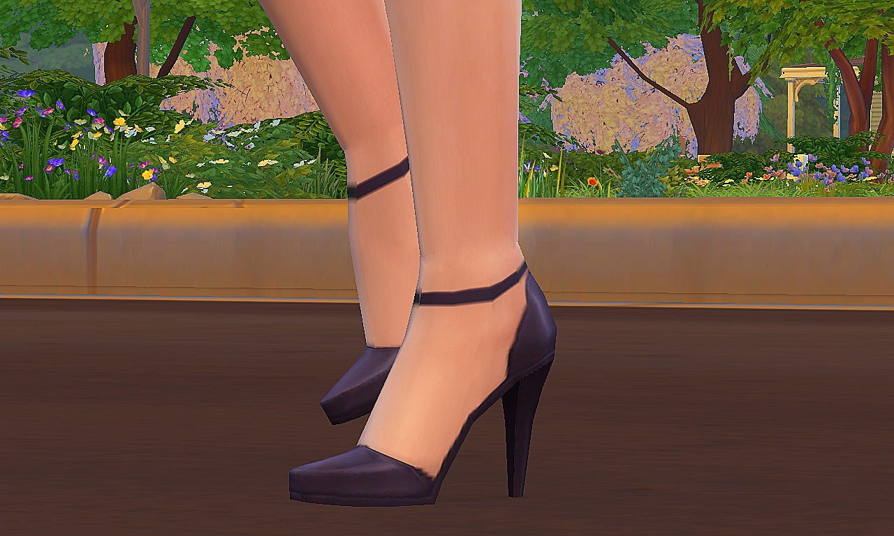 Ankle Strap High Heel Shoes.png