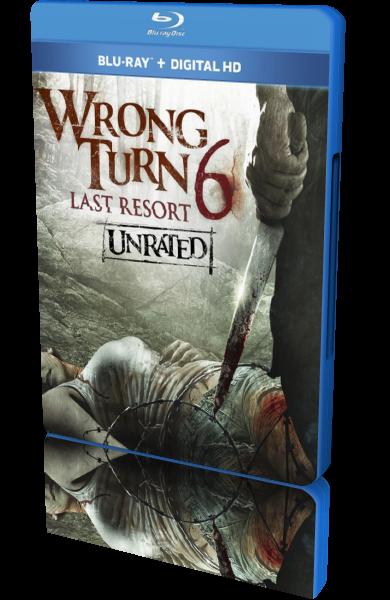 Поворот не туда 6: Последний курорт / Wrong Turn 6: Last Resort (Валерий Милев / Valeri Milev) [2014, США, ужасы, BDRip-AVC] MVO + Sub (Rus, Eng)