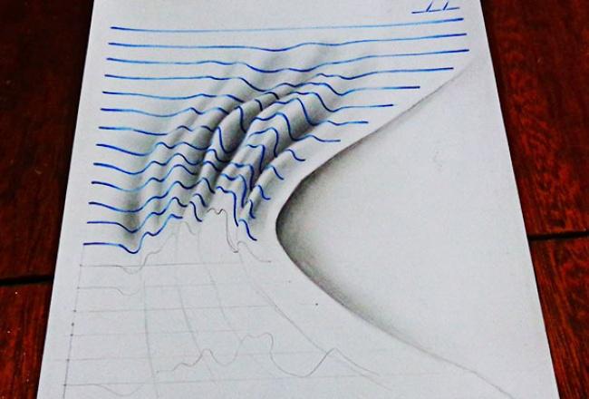 Объемные рисунки в вашем блокноте 2