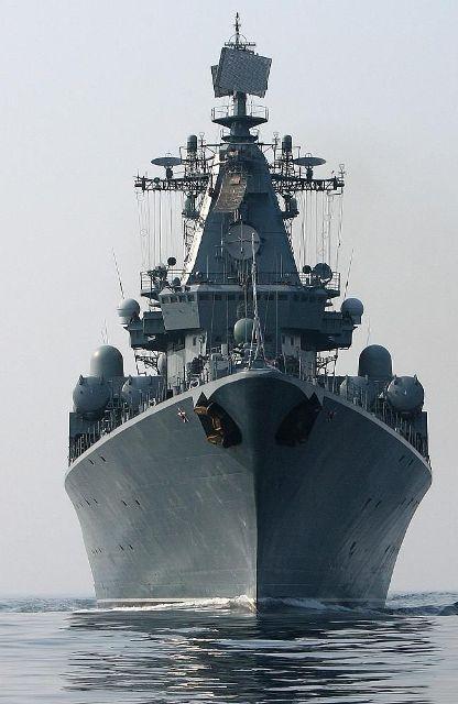 К Брисбэйну приближается группа российских военных кораблей