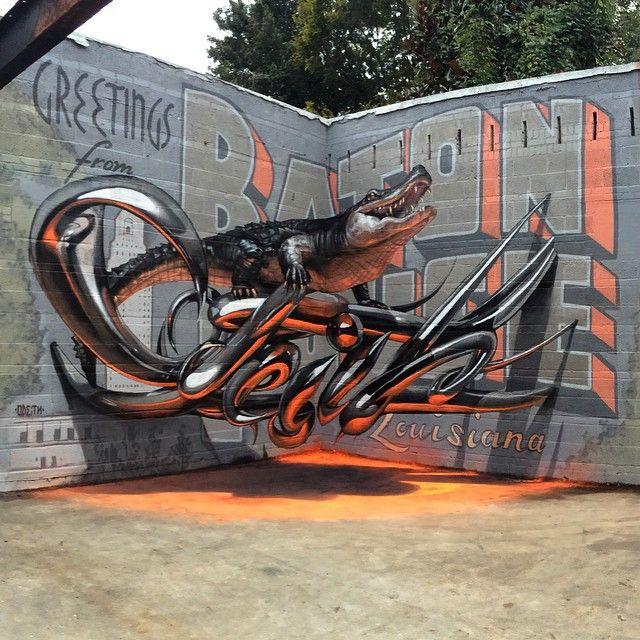 3D граффити 1
