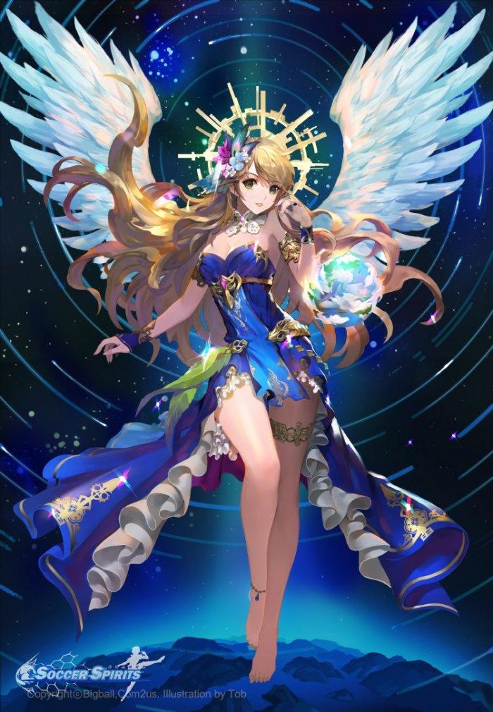 Ангельский крылышки 1