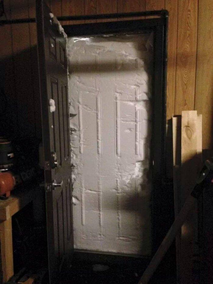 Аномальные снегопады в США 1