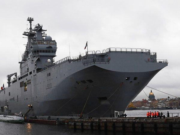 Франция заподозрила российских моряков в намерении угнать «Мистраль»