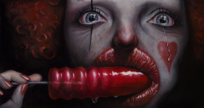 Грустный клоун 1
