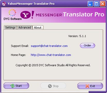 Yahoo! Messenger Translator Pro 5 2 1