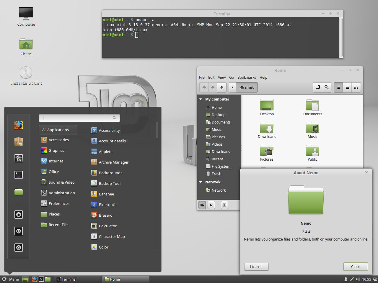linux mint сборки