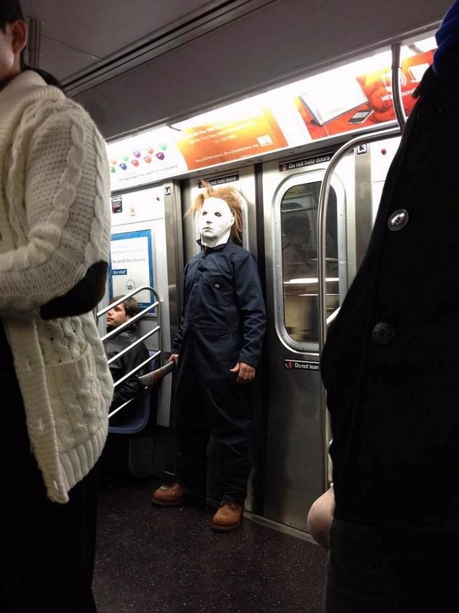 В метро, как-то в пятницу 1