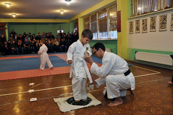Посвящение юных спортсменов в воины