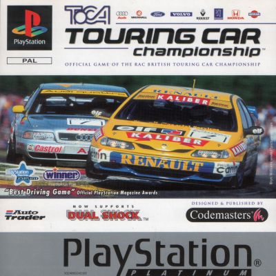 [PS] TOCA Touring Car Championship (TOCA Championship Racing) [SLES-00376][Multi5]