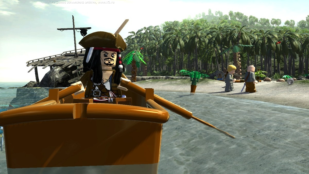 LEGO Pirates of the Caribbean (2012) [Multi] [OS X Native game]