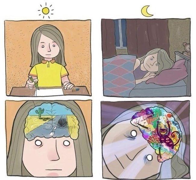 Мысли ночью 1