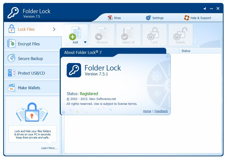 File And Folder Lock Freeware - The best free software for ...
