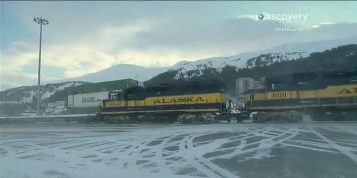 Discovery. �������� ������ ������ / Railroad Alaska [S01] (2013) SATRip