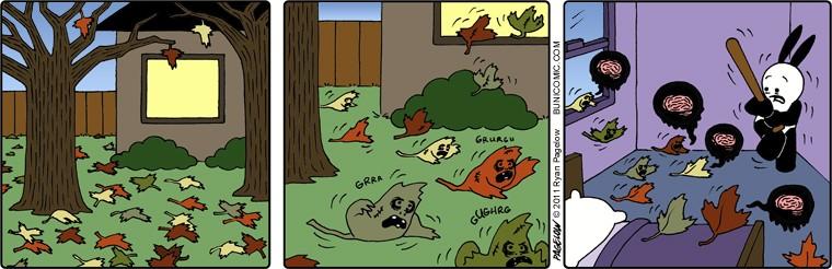 Нашествие осенних листьев