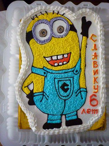 Торт миньон без мастики фото 2