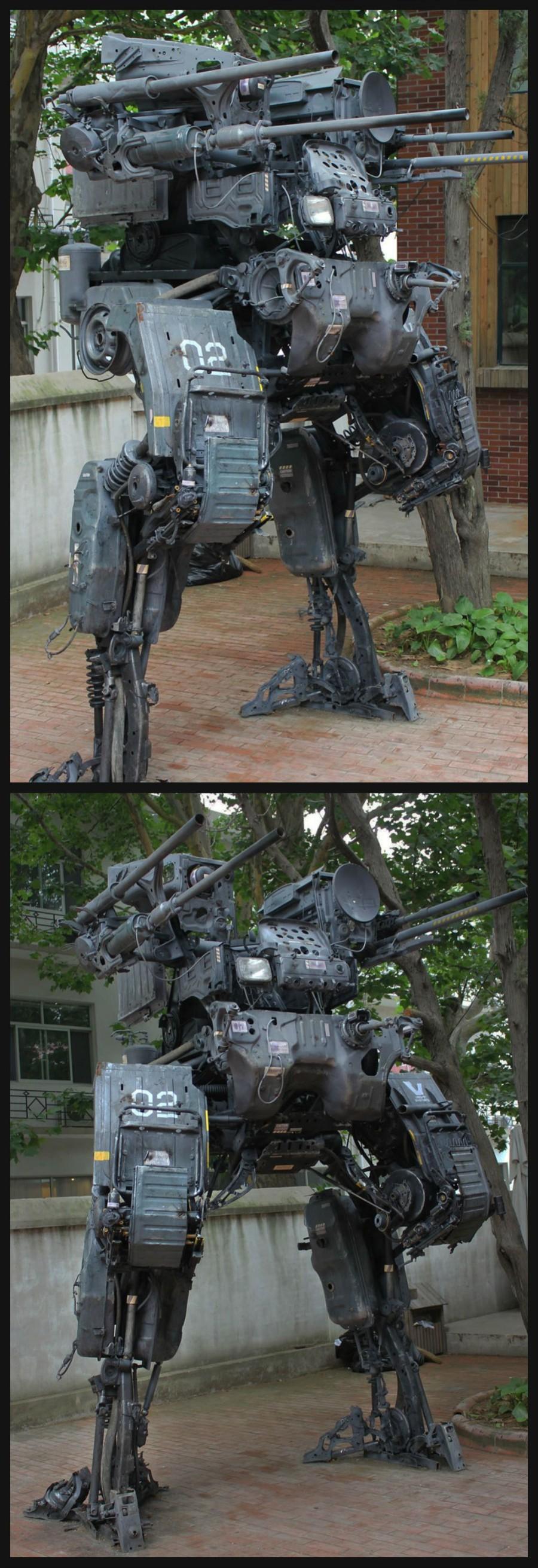 Скульптура: мех