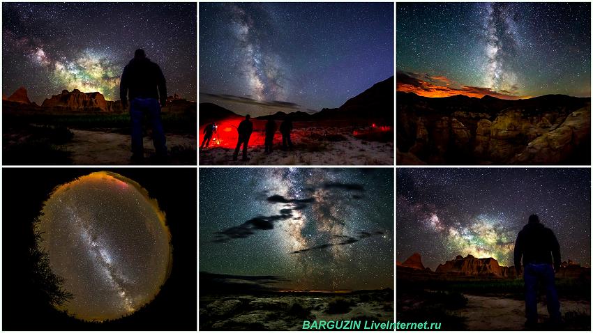 Звездное небо от фотографа Randy Halverson