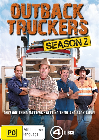 Discovery: Реальные дальнобойщики / Outback Truckers / 2 сезон, 13 серий из 13 [2014, Документальный, познавательный, HDTVRip 720p]