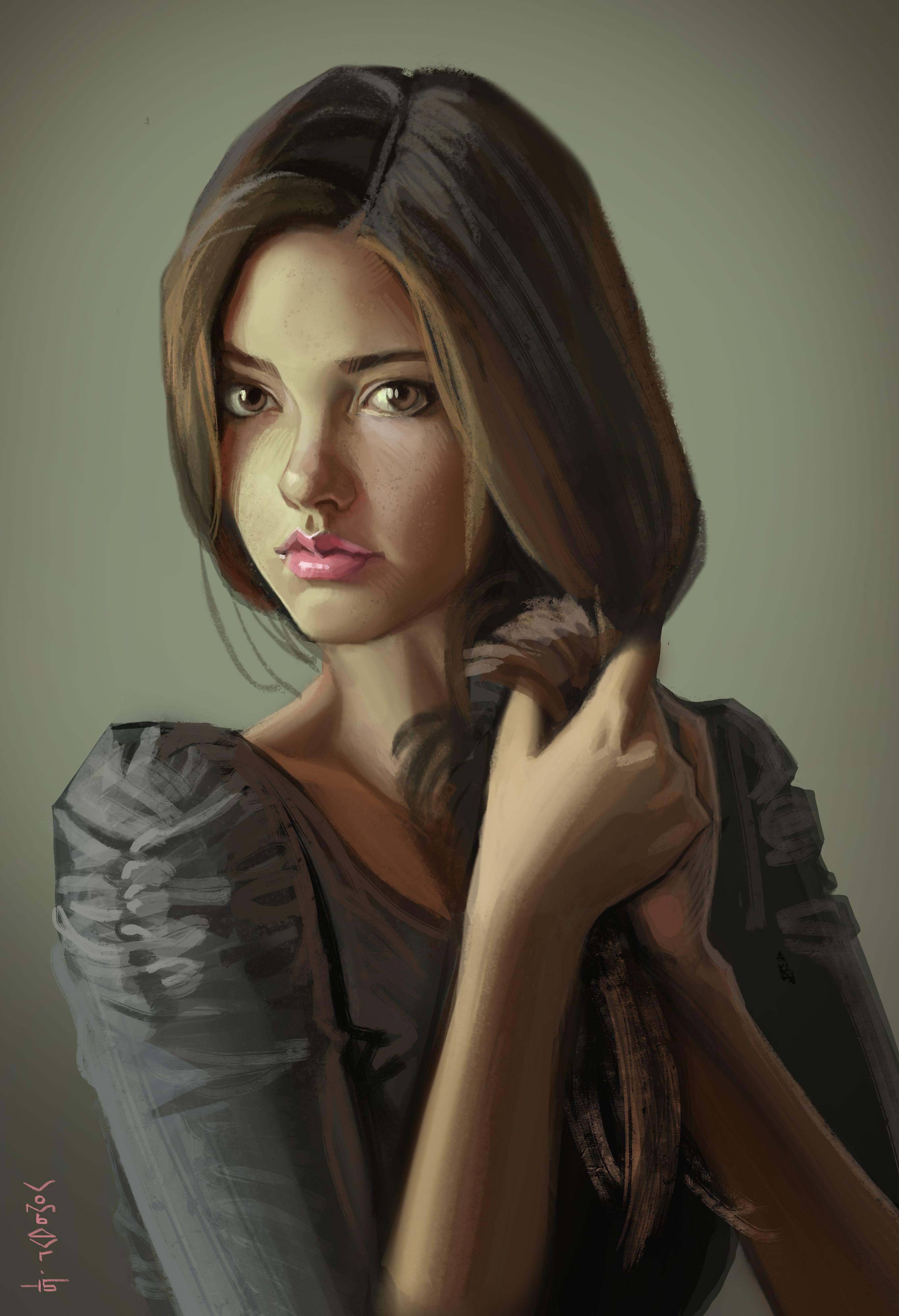 Фото красивые девушки с длинными черными волосами 11 фотография