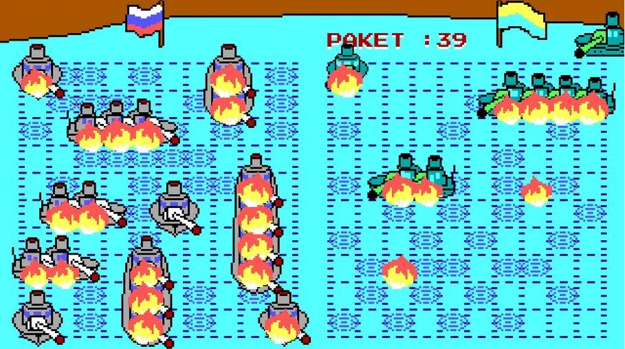 Морской Бой из 90-х на русском 1.0.0 [Ru]