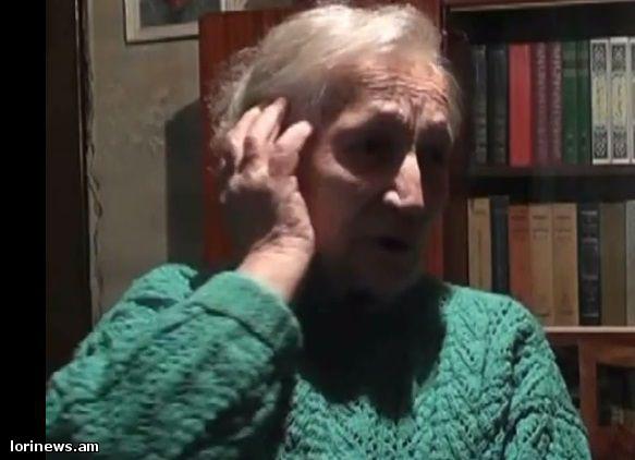 Վանաձորցի կին վետերանը. Նինա Օգանեսյան.ՏԵՍԱՆՅՈՒԹ