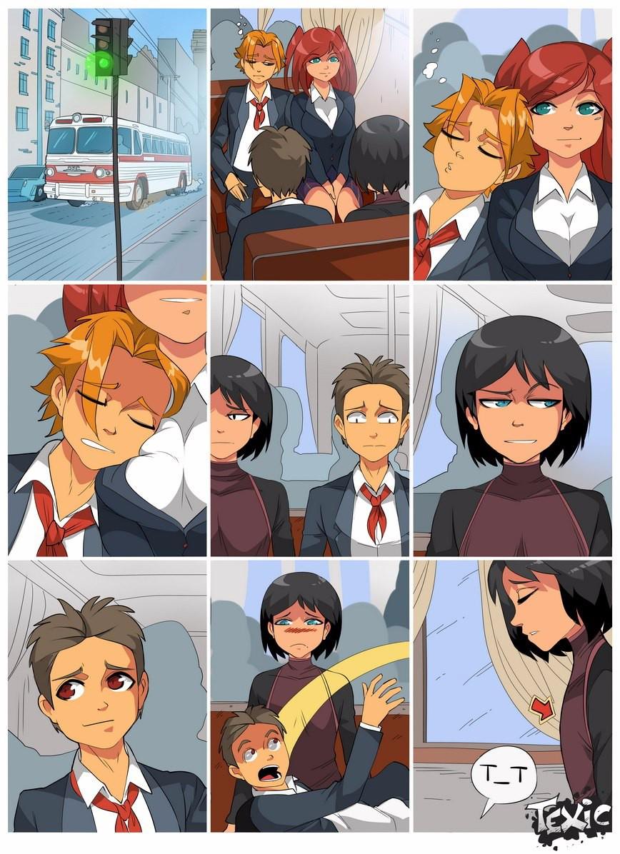 Сон в автобусе