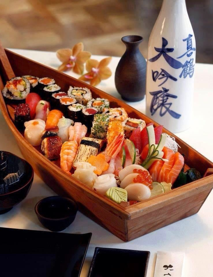 Праздничный набор суши