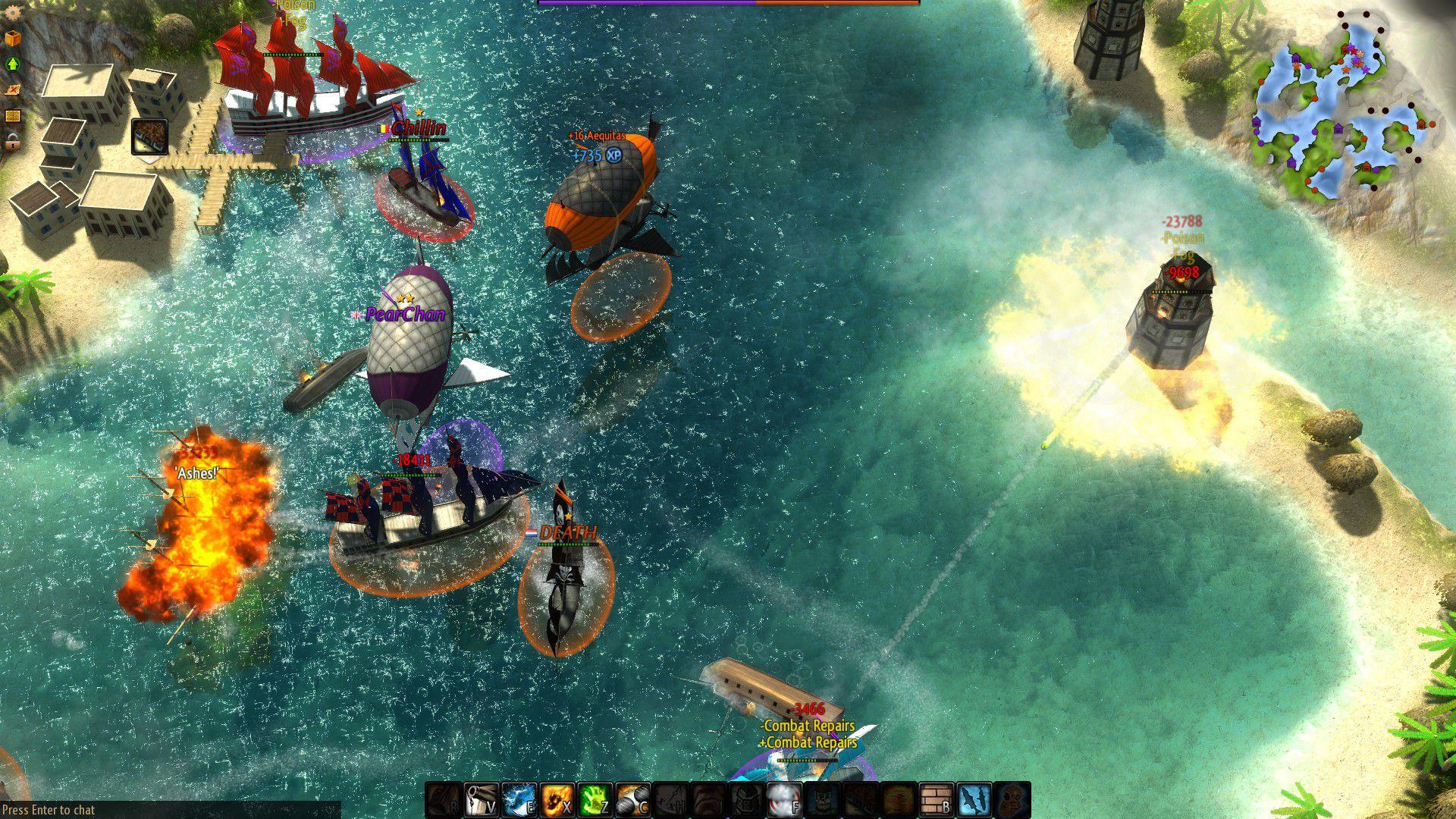 Второй скриншот Windward v29.06.2016