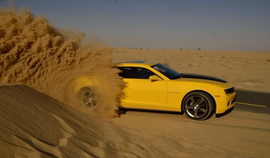 Пробуксовка в песке