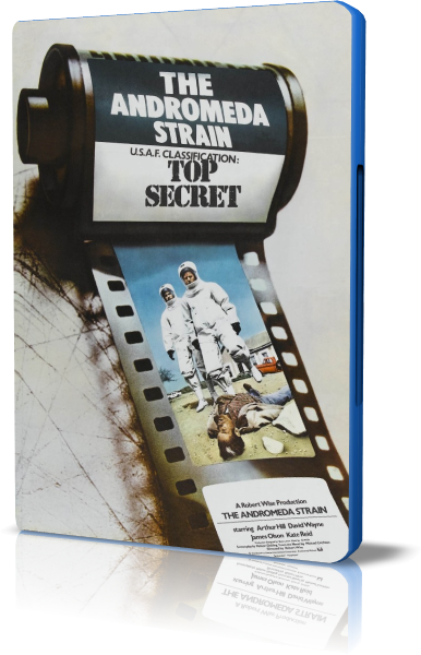 Штамм Андромеда / The Andromeda Strain (1971) BDRip-AVC | DVO