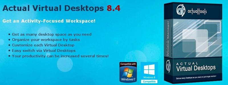 Actual Transparent Window 8.4/Actual Window Guard 8.4/Actual Virtual Desktops 8.4