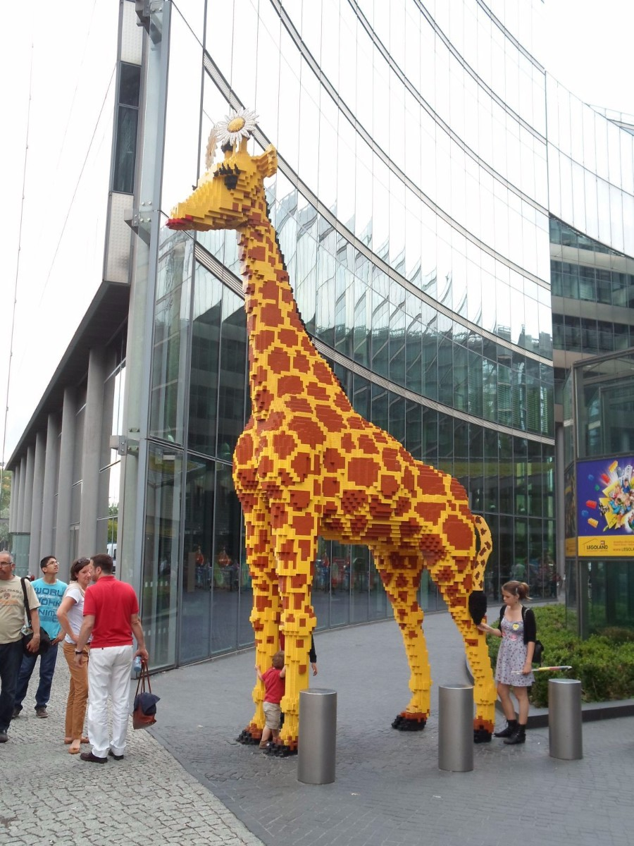 ЛЕГО жираф