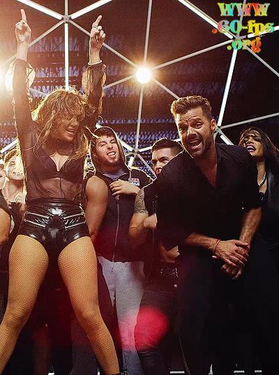 Ricky Martin feat. Wisin & Jennifer Lopez - Adrenalina (2014) Full HD 1080p   60 fps