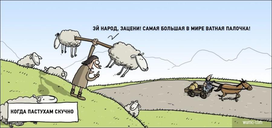 Когда пастухам скучно