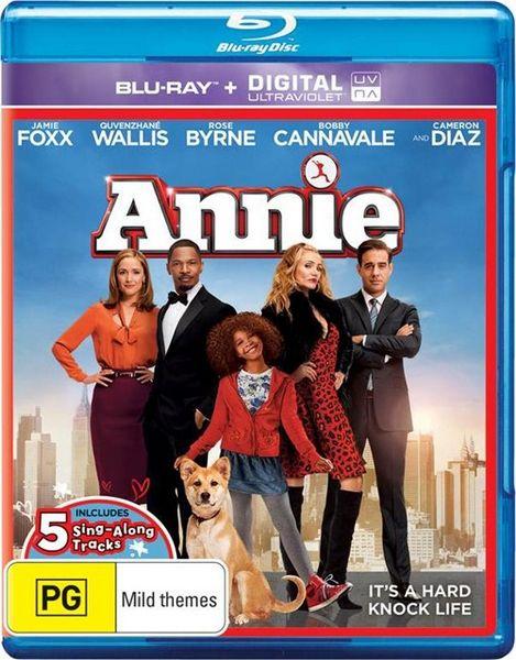 Энни / Annie (Уилл Глак / Will Gluck) [2014, США, мюзикл, семейный, драма, комедия, BDRip] Dub (CEE) + Original Eng + subs (Rus Forced, Rus, Eng, Eng SDH, Eng SDH Colored)